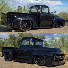 Murdered out Ford F100! #SlammedTruck #classic#ford #bagged #chevy #trucks#rims#ratrod #hotrod #slammed #snow#snowboard#snowmachine #sled #chevy #gmc #ratrod #hotrod #Custom via ✨ @padgram ✨(http://dl.padgram.com)