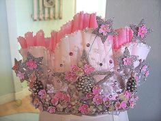 roze verjaardagskroon voor meisjes