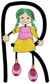 Graad R - Werkboeke Alphabet, Tangram, Preschool Learning, Tweety, Princess Peach, Children, Kids, Banner, Doodles
