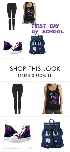 """""""FIRST DAY OF SCHOOL"""" by cassie5sos on Polyvore featuring Topshop"""
