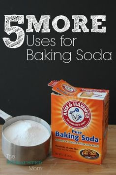 Baking Soda isn't just for baking. Here are 5 MORE uses for Baking Soda.