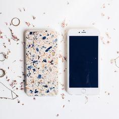 iPhone Case - Blush Terrazzo