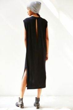 Silence + Noise Clea Midi T-Shirt Dress