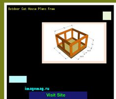 Outdoor Cat House Plans Free 092516 - The Best Image Search