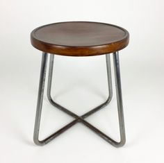 B77 stool by Marcel Breuer for Thonet, 1930s
