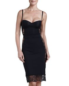 Allure Convertible Slip, Black by La Perla at Neiman Marcus.