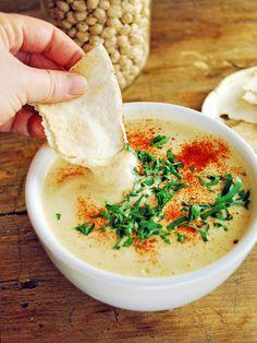 Receta de hummus su sabor es espectacular, es fácil de hacer, transportar y es…