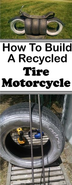 This is an awesome idea for how to recycle tires! It is a great outdoor project, it's fun for kids and will lead to a lot of summer fun! Thanks for pinning! Tire Playground, Outdoor Playground, Tire Craft, Recycling For Kids, Used Tires, Tyres Recycle, Ideias Diy, Outdoor Projects, Craft Projects