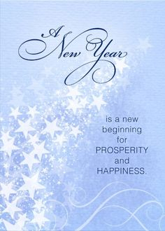 A New Year is a new beginning for prosperity and happiness. Click on this card, add your personal message inside and hit send. Send a card for $1.98 when sharing from Sendcere.com.