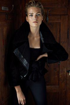 Michaela Hlavackova Stars in Top Fashion A/W 2013 by Branislav Simoncik