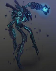 ArtStation - Chozo Ghost //Metroid Prime 3, Sara Kowalewska