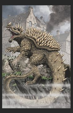Anguirus incentive cover - IDW Publishing Forums