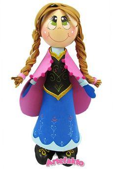 Fofucha Anna Frozen de Artefakto