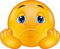 Trauriger Emoticon Smiley Der Karikatur - Download von über 54 Million Vorrat-Fotos der hohen Qualität, Bilder, Vectors. Melden Sie sich heute FREI an. Bild: 46947831