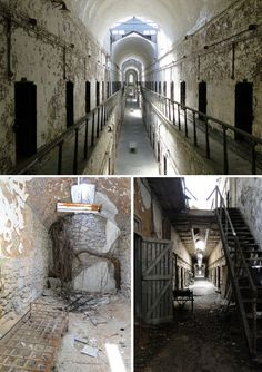 So want to go someday....to visit, not stay! Eastern State Penitentiary in Philadelphia.