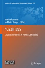 NEW BOOK:  Detailed characterization of fuzzy interactions will be of central importance for understanding the diverse biological functions of intrinsically...