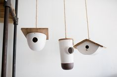 Bird houses by Roost.  Photography by Sachin Khona
