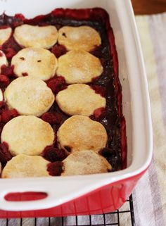 Rhuberry Cobbler - Cooking with Tenina