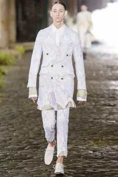 Male Fashion Trends: Alexander McQueen Spring/Summer 2014: London Collections: MEN