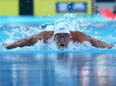 Blog Esportivo do Suíço:  Michael Phelps nadará 5 provas classificatórias para Jogos do Rio