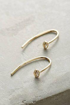 Waterfall Arc Drop Earrings