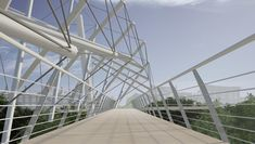 Tensegrity Bridge — Atelier Architecture 64