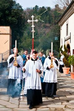 Photo - from last year's Palm Sunday Procession at the Seminary