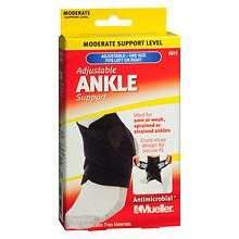 Mueller Adjustable Ankle Support, Moderate Support, Model 6511 One Size Black at Walgreens. Get free shipping at $35 and view promotions and reviews for Mueller Adjustable Ankle Support, Moderate Support, Model 6511 One Size Black