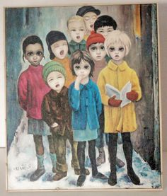 """PEACE ON EARTH"" By Margaret Keane 