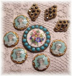 antique buttons - Google Search