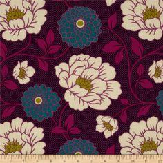 Joel Dewberry Bungalow Dahlia Lavender Fabric