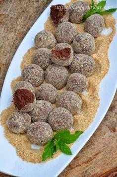 Appetizer Recipes, Dog Food Recipes, Cookie Recipes, Dessert Recipes, Sweet Desserts, Delicious Desserts, Yummy Food, Polish Desserts, Vegan Baking