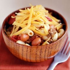 Weight Watchers Cheesy Chili-Mac  I made this and loved it. The only hard part was eating just one portion. Think next time I will freeze into several small batches so there is never a huge bowl of it in my fridge.