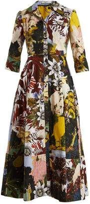 ERDEM Kasia patchwork floral-print cotton shirtdress #erdem #dress #sale Fabulous Dresses, Beautiful Outfits, Beautiful Things, Cotton Shirt Dress, Erdem, Coat Dress, Day Dresses, Frocks, Shirtdress