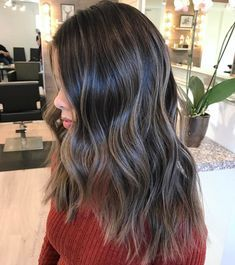 Long+Hair+With+Ash+Gray+Coloring