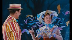 Julie Andrews Mary Poppins, Mary Poppins 1964, Disney Live, Disney Girls, Musical Film, Musical Theatre, Merry Poppins, Mary Poppins Musical, Walter Elias Disney