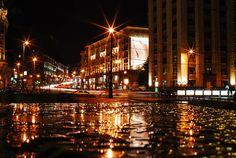 Tverskaya Street at Night by Lee Jongwon, via Flickr