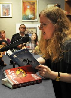 suzanne Suzanne Collins, Hunger Games Trilogy, Games To Play, Literature, Life, Authors, Nerd, Reading, Books
