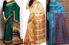 Types of silk used in south Indian wedding sarees  #Ezwed #BridalSilkSarees #SouthIndianWeddingSarees #WeddingSarees