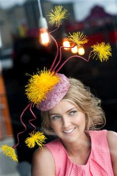 Hat by Rebecca Share MILLINER  2012 Spring Collection  #Millinery #Hats #Fashion #Milliner