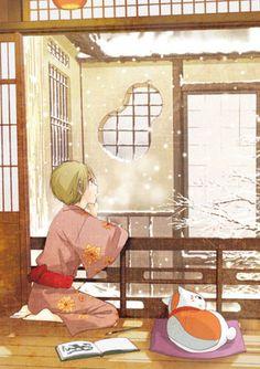 Natsume Yuujinchou (Natsume's Book Of Friends ) - Yuki Midorikawa - Mobile Wallpaper - Zerochan Anime Image Board Manga Anime, Anime Art, Slice Of Life Anime, Natsume Takashi, Cool Anime Pictures, Hotarubi No Mori, Manga Cute, Natsume Yuujinchou, Awesome Anime