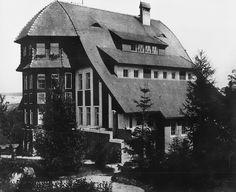 Boberhaus; Lwowek, Poland. Designed by Hans Poelzig, 1904