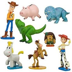 Toy Story--Woody & Buzz rule! (Jessie & Bullseye aren't too shabby either.)