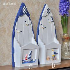 Средиземное море серии канцелярские деревянная коробка аксессуары для дома хранения купить на AliExpress