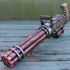Hey, I found this really awesome Etsy listing at https://www.etsy.com/listing/176712207/steampunk-victorian-gatling-gun-zombie