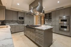 The dining room will comfortably seat ten, whereas the kitchen is a gourmet masterpiece finished in Carrara Marble. Selling Real Estate, Luxury Real Estate, Kitchen Dining, Dining Room, Carrara Marble, Luxury Homes, Las Vegas, Beautiful, Home Decor