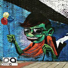 Arte urbano en #Bogotá. #graffiti #urban #art #urbanart