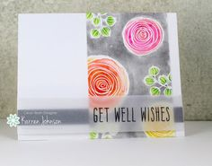 KarrenJ - Stamping Stuff: Feel Better Flowers
