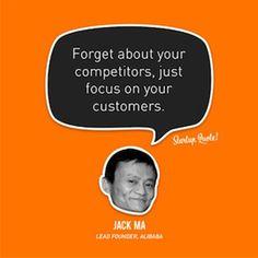 olvidate-de-la-competencia #jackMa Competitors vs consumers