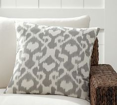 Andrea Indoor/Outdoor Pillow #potterybarn